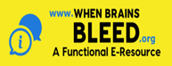 When Brains Bleed A Functional E-Resource Logo